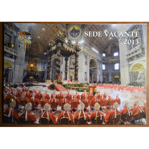2 Euro Vatican 2013 - Sede Vacante (Numisbrief BU)