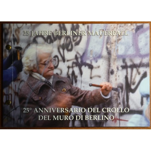 2 Euro Vatican 2014 - 25th Anniversary of the fall of the Berlin Wall (Numisbrief)