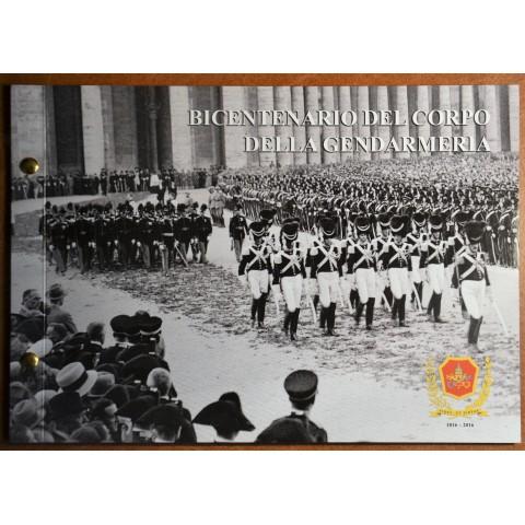 2 Euro Vatican 2016 - 200 years of Gendarmeria  (Numisbrief)