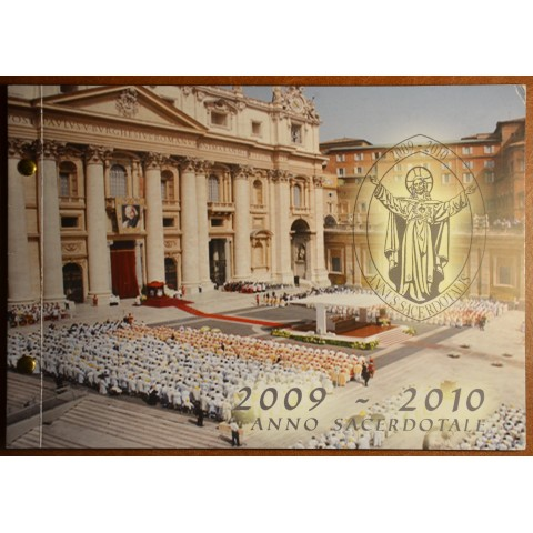 2 Euro Vatican 2010 - Year for priests (Numisbrief)