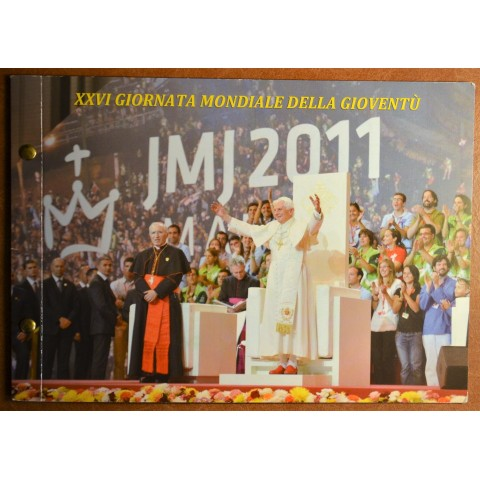 2 Euro Vatican 2011 - XXVI World Youth Day Madrid 2011 (Numisbrief)