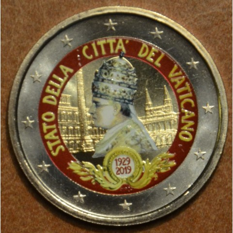 2 Euro Vatican 2019 - Vatican City State II. (colored UNC)