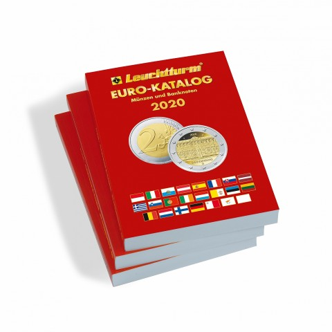 Leuchtturm Catalogue of Euro 2020 in German lang.