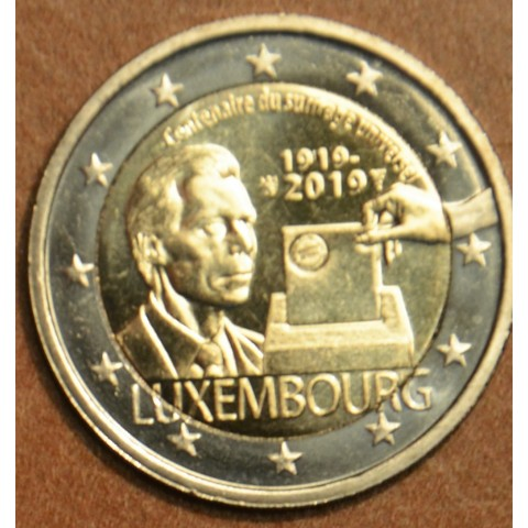 2 Euro Luxembourg 2019 - 100th anniversary of universal right to vote (UNC)