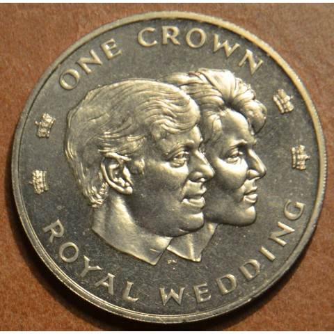 Turks and Caicos islands 1 crown 1986 (UNC)