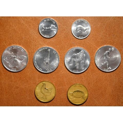 Congo 8 coins mix (UNC)