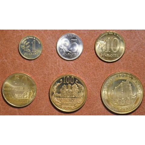 Paraguay 6 coins 1993-1998 (UNC)