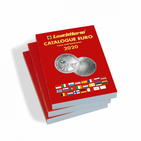 Leuchtturm Catalogue of Euro 2020 in English lang.