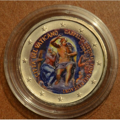 2 Euro Vatican 2019 - Sistine Chapel (colored UNC)