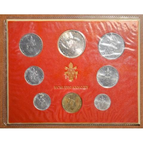 Vatican 8 coins 1976 (BU)