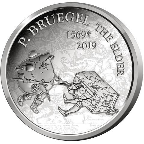 10 Euro Belgium 2019 - Pieter Bruegel (Proof)