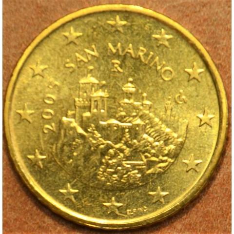 50 cent San Marino 2005 (UNC)