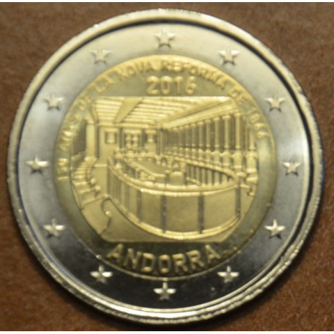 2 Euro Andorra 2016 - New reforms (UNC)
