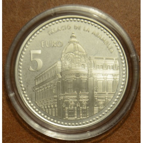 5 Euro Spain 2010 Ceuta (Proof)