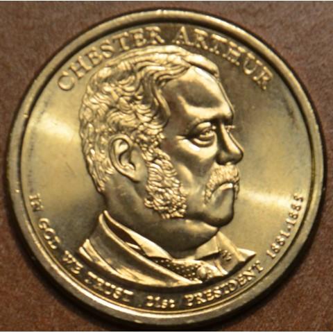 "1 dollar USA ""D"" 2012 Chester A. Arthur (UNC)"