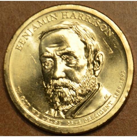 "1 dollar USA ""D"" 2012 Benjamin Harrison (UNC)"