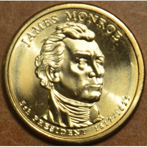 "1 dollar USA ""D"" 2008 James Monroe (UNC)"