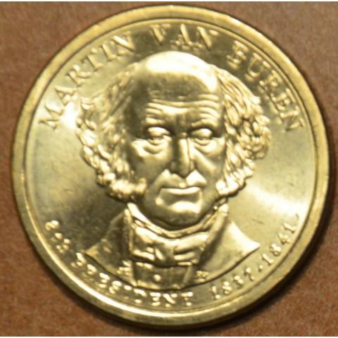 "1 dollar USA ""D"" 2008 Martin Van Buren (UNC)"