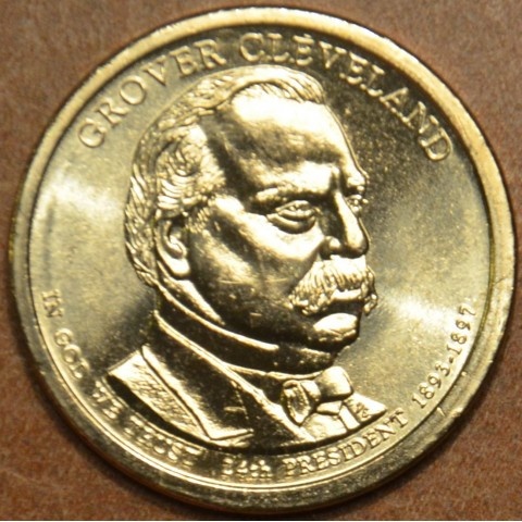 "1 dollar USA ""D"" 2012 Grover Cleveland II. (UNC)"