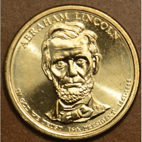 "1 dollar USA ""P"" 2010 Abraham Lincoln (UNC)"