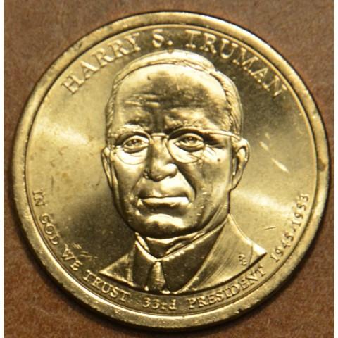 "1 dollar USA ""P"" 2015 Harry S. Truman (UNC)"