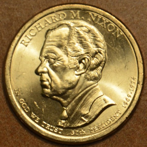 """1 dollar USA """"P"""" 2016 Richard M. Nixon (UNC)"""