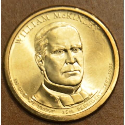 """1 dollar USA """"P"""" 2013 William McKinley (UNC)"""