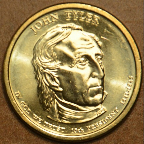 "1 dollar USA ""D"" 2009 John Tyler (UNC)"