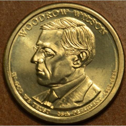 "1 dollar USA 2013 Woodrow Wilson ""P"" (UNC)"