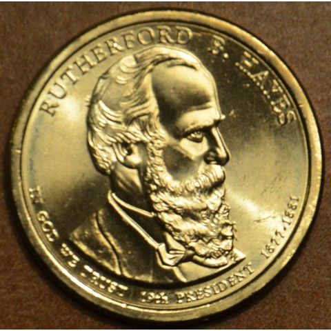 """1 dollar USA """"D"""" 2011 Rutherford B. Hayes (UNC)"""