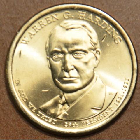 "1 dollar USA ""P"" 2014 Warren G. Harding (UNC)"