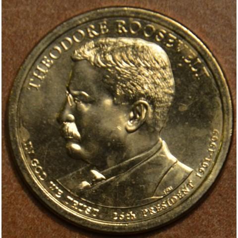 "1 dollar USA 2013 Theodore Roosevelt ""P"" (UNC)"