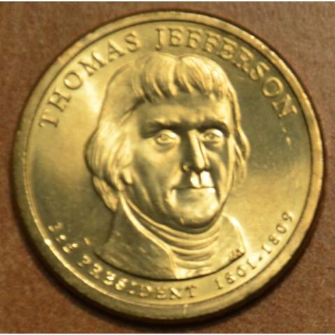 "1 dollar USA ""D"" 2007 Thomas Jefferson (UNC)"