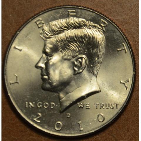 """Half dollar USA """"D"""" 2010 (UNC)"""