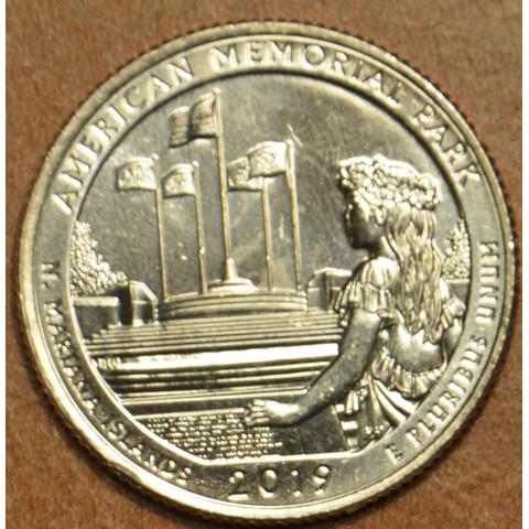 "25 cent USA ""D"" 2019 American Memorial Park (UNC)"