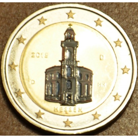 2 Euro Germany 2015 - Hessen: St. Paul church (colored UNC)