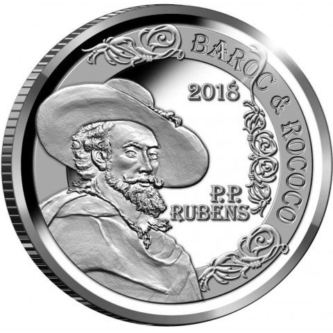 10 Euro Belgium 2018 - Peter Paul Rubens (Proof)