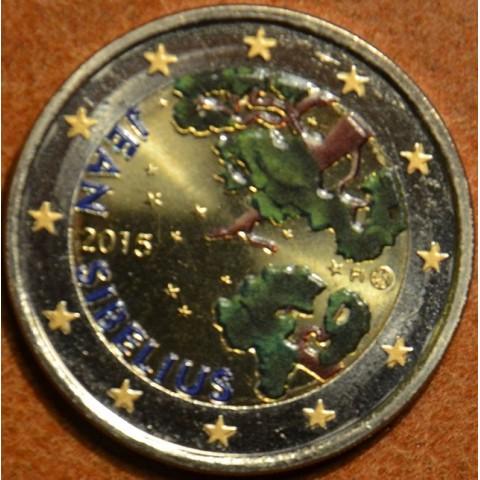 2 Euro Finland 2015 - Jean Sibelius (colored UNC)