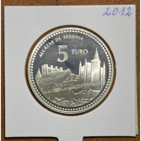 5 Euro Spain 2012 Segovia (Proof)