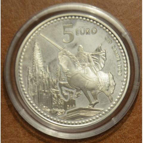 5 Euro Spain 2011 Burgos (Proof)