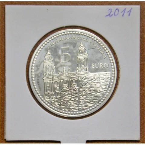 5 Euro Spain 2011 Lugo (Proof)