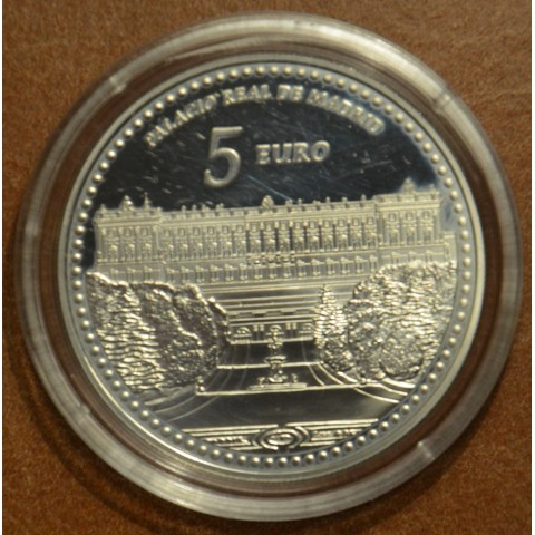 5 Euro Spain 2014 Royal Palace of Madrid (Proof)