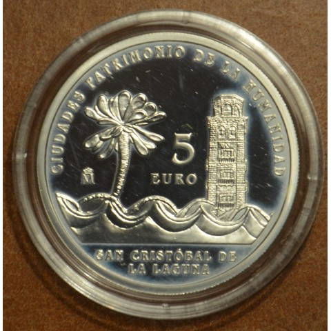 5 Euro Spain 2015 San Cristóbal de la Laguna (Proof)