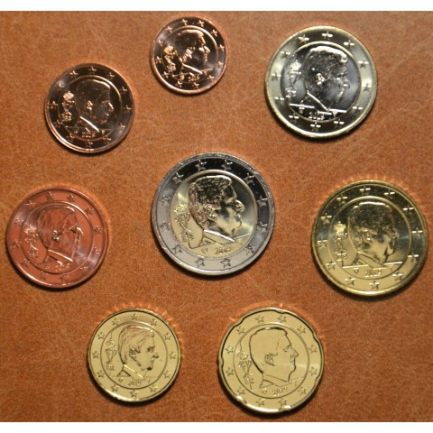 Set of 8 coins Belgium 2019 (UNC)