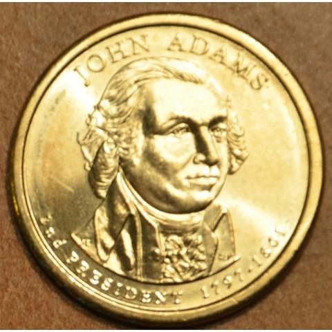 "1 dollar USA ""D"" 2007 John Adams (UNC)"