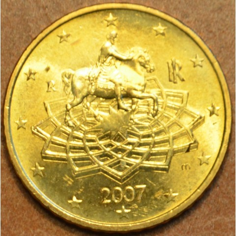 50 cent Italy 2007 (UNC)