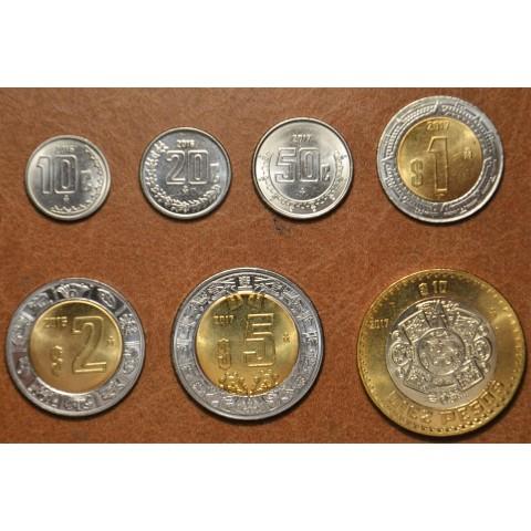 Mexico 7 coins 2016-2017 (UNC)