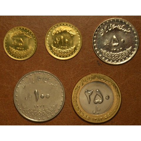 Irán 5 coins 1992-2003 Mosques (UNC)