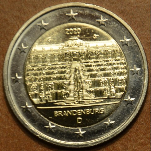 "2 Euro Germany ""G"" 2020 - Brandenburg (UNC)"