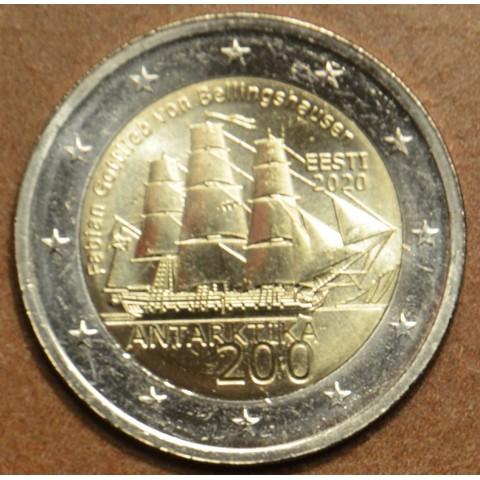 2 Euro Estonia 2020 - Discovery of the Antarctic (UNC)